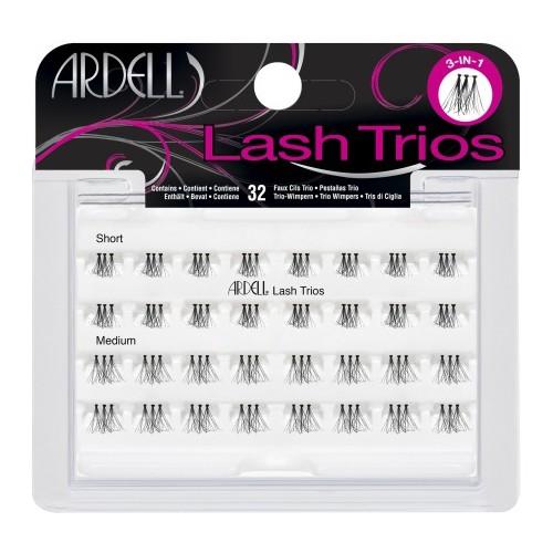 Ardell Eyelash Individual Lash Trios Black - 32ct