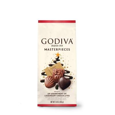Godiva Masterpiece Holiday Assorted Chocolates - 5.8oz