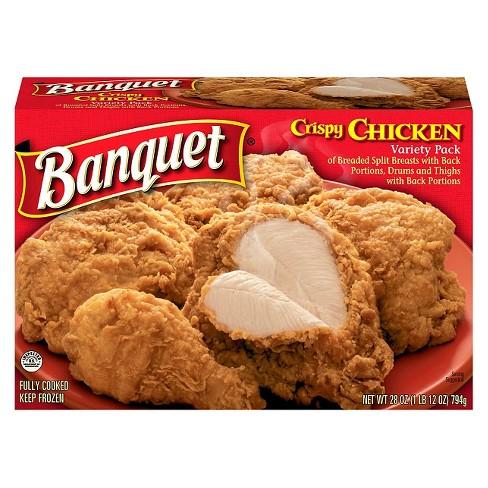Banquet Crispy Fried Chicken - 28oz