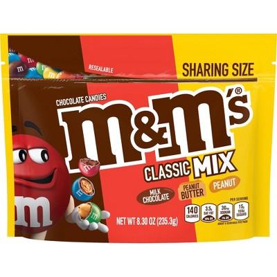 M&M's Classic Mix Sharing Sup - 8.3oz