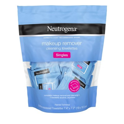 Facial Cleansing Wipes: Neutrogena Makeup Remover Singles