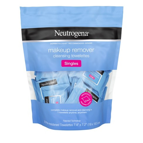 Neutrogena Cleansing Facial Wipes Individually Wrapped - 20ct - image 1 of 15