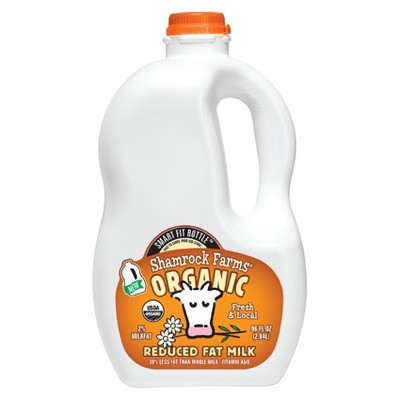 Shamrock Farms Organic 2% Milk - 96 fl oz