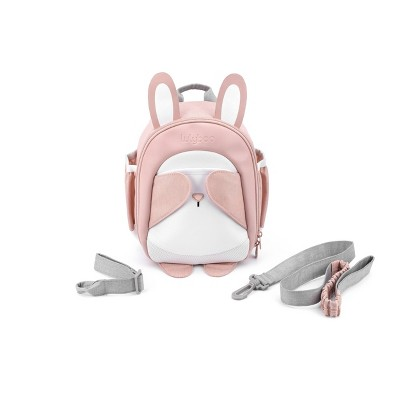 Lulyboo Boo! Bunny Toddler Backpack with Security Harness