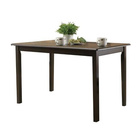 Serra II Dining Table Cappuccino Brown - Acme - image 1 of 1