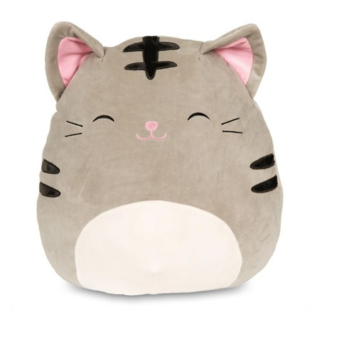Kellytoy Squishmallow 20 Inch Plush Tally The Grey Tabby Cat Target
