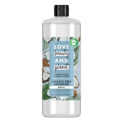 Love Beauty & Planet Coconut Water & Mimosa Flower Sulfate Free Shampoo Refill - 32.3 fl oz