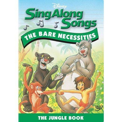 Sing Along Songs: The Bare Necessities - The Jungle Book (DVD) - image 1 of 1
