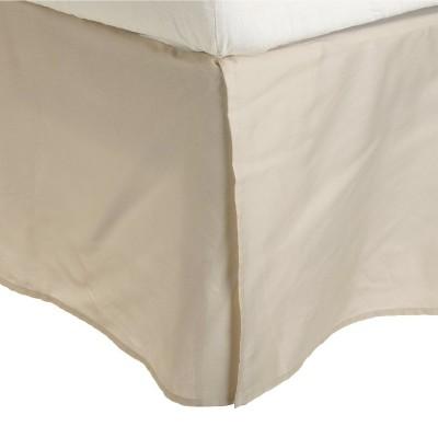 "Solid Microfiber Wrinkle-Free 15"" Drop Bed Skirt by Blue Nile Mills"