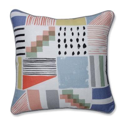 Amagansett Summer Throw Pillow - Pillow Perfect