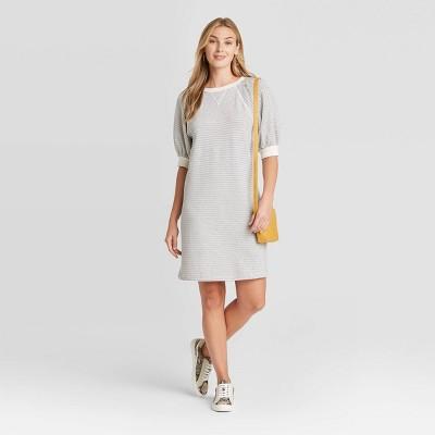 Women's Puff Short Sleeve T-Shirt Dress - Universal Thread™