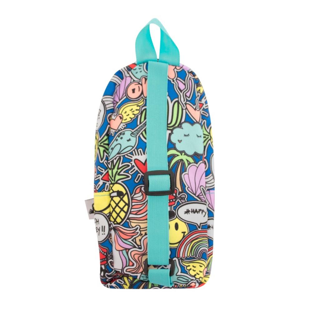 Backpack Pencil Case Teal (Blue) - Yoobi