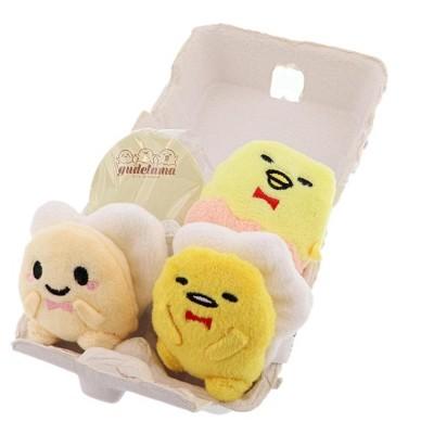 Sanrio Gudetama & Friends Mini Plush Magnet and Memo Set