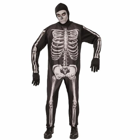 Forum Novelties Skeleton Jumpsuit Costume Adult Men - image 1 of 1