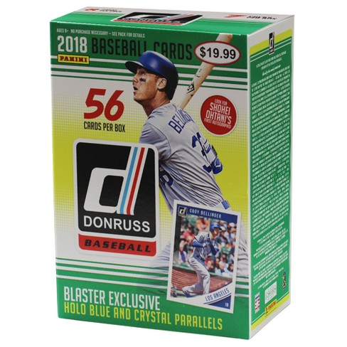 2018 MLB Baseball Donruss Trading Card Full Box - image 1 of 3