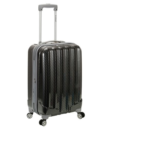 "Rockland Melbourne Expandable ABS Carry On Suitcase - Fiber (20"") - image 1 of 2"