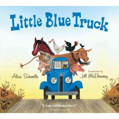 Little Blue Truck ( Little Blue Truck)(Board)by Alice Schertle