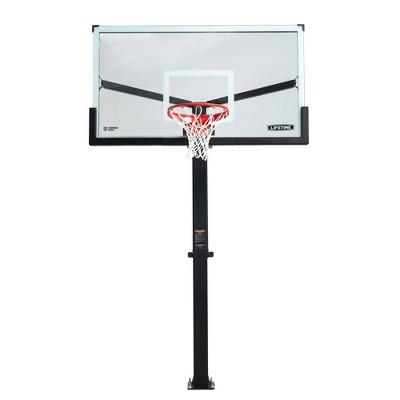 """Lifetime 72"""" Mammoth Bolt Down Basketball Hoop"""
