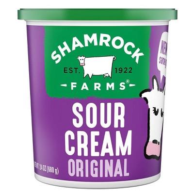 Shamrock Farms Premium Sour Cream - 24oz