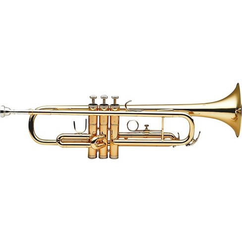 Stagg WS-TR215 Series Student Bb Trumpet Clear Lacquer Yellow Brass Bell - image 1 of 1
