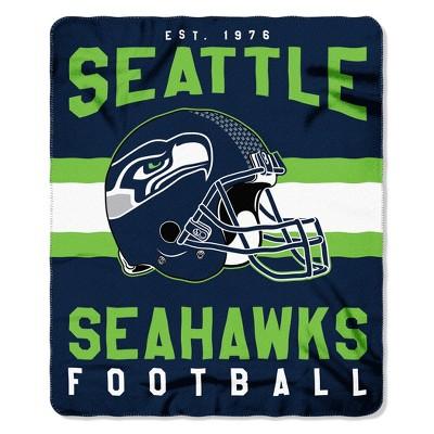 The Northwest Company Seattle Seahawks Fleece Throw , Blue