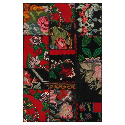 """Accent Rug Tribal Patchwork Floral 3'11""""5'11"""" - image 1 of 1"""