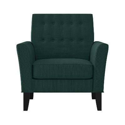 Graff Button Tufted Armchair Linen - Handy Living