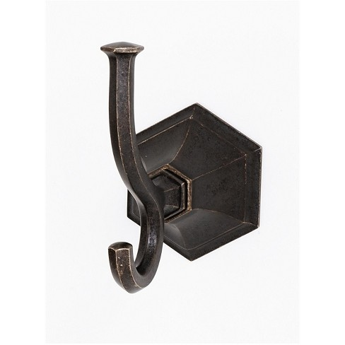 """Alno A7799 Nicole 4-1/16"""" Tall Double Prong Robe Hook - image 1 of 1"""
