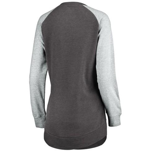 d808f36c Jacksonville Jaguars Women's Brushed Tunic/ Gray Crew Neck Fleece  Sweatshirt M