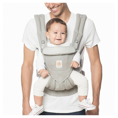 Ergobaby Omni 360 All Carry Positions Ergonomic Baby Carrier - Pearl Gray
