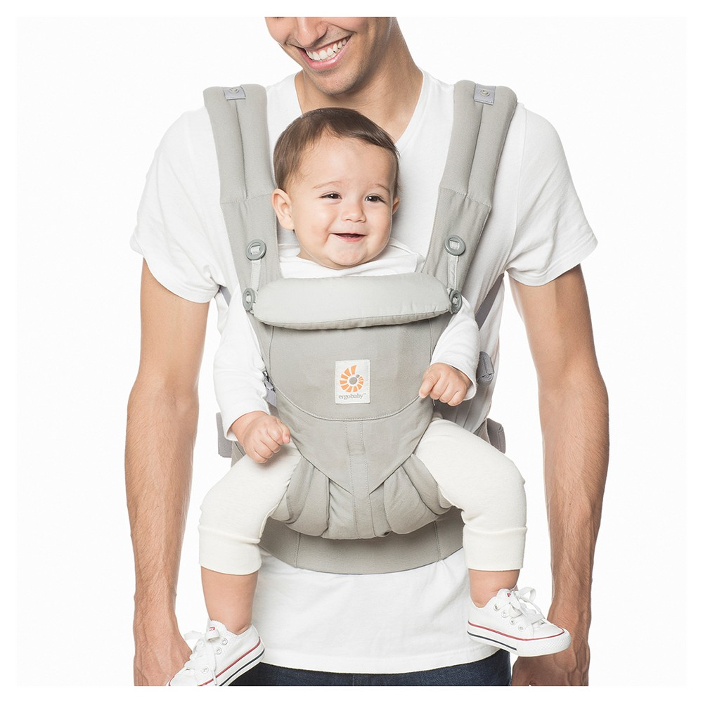 Image of Ergobaby Omni 360 All Carry Positions Ergonomic Baby Carrier - Pearl Gray