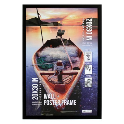 Poster Frame 1  Profile - Black - (20 x30 )