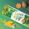 Happy Egg Large Brown Organic Free Range Grade A Eggs - 12ct - image 2 of 4