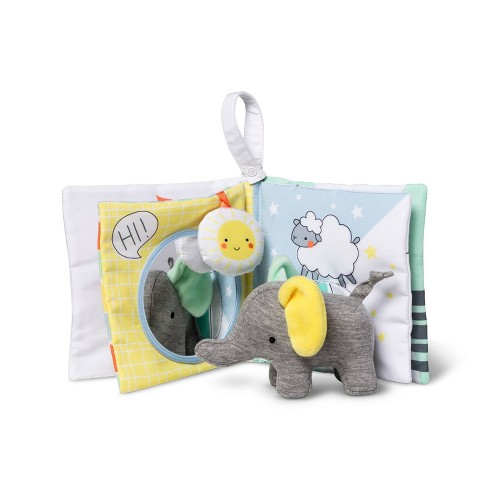 Baby Book and Plush Elephant - Cloud Island™ - image 1 of 2