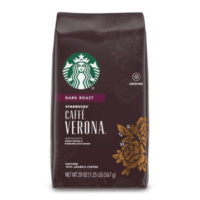 Starbucks Dark Roast Ground Coffee — Caffè Verona — 100% Arabica — 1 bag (20 oz.)
