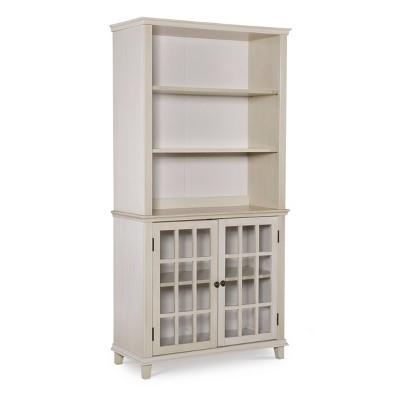 Largo Antique Display Cabinet - Linon