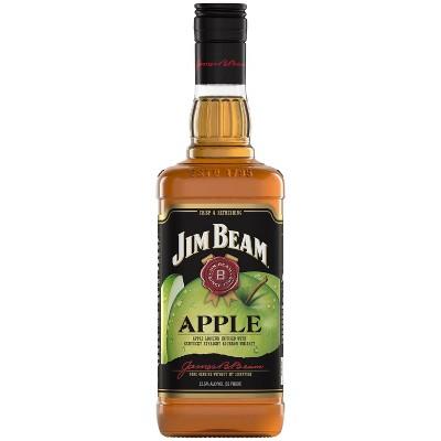 Jim Beam Apple Bourbon Whiskey - 750ml Bottle