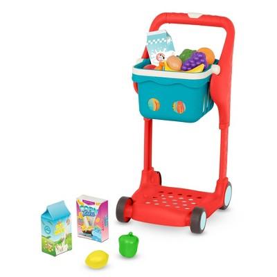 B. play - Shopping Cart & Play Food - Shop & Glow Toy Cart
