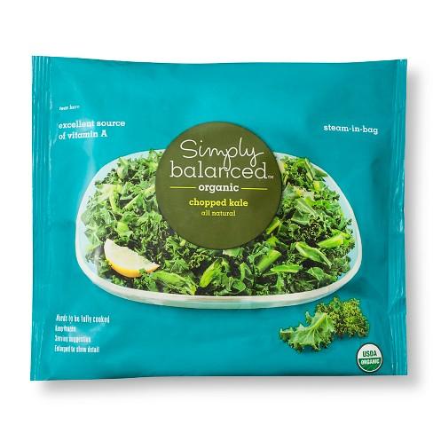 Frozen Organic Kale - 10oz - Simply Balanced™ - image 1 of 1