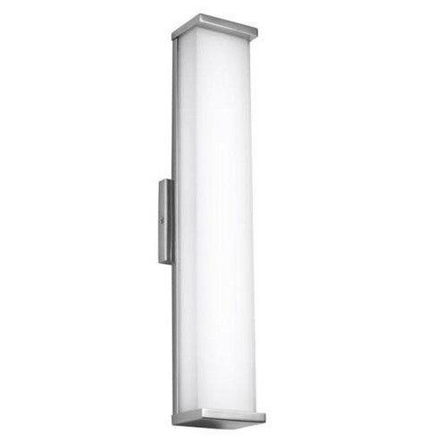 """Feiss Altron 24"""" 1 Light LED Polished Stainless Steel Indoor-Outdoor Sconce WB1864PST-L1 - image 1 of 4"""