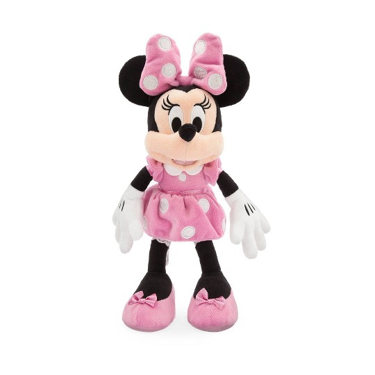 Disney Mickey Mouse & Friends Minnie Mouse Small 14'' Plush - Pink - Disney store image number null