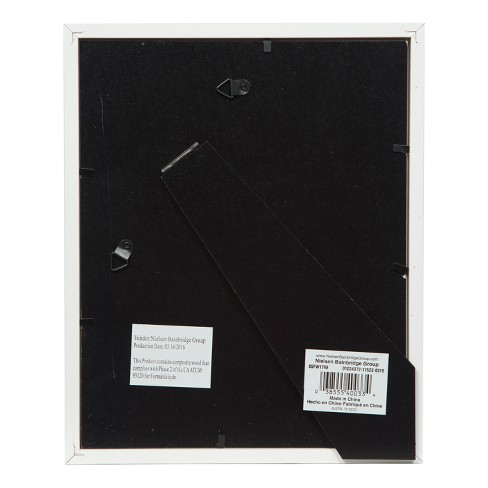 8X10 Mat To 5X7 White Wood Frame