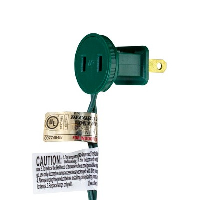 Northlight 50ct LED Mini Christmas Lights Warm White - 16.25' Green Wire