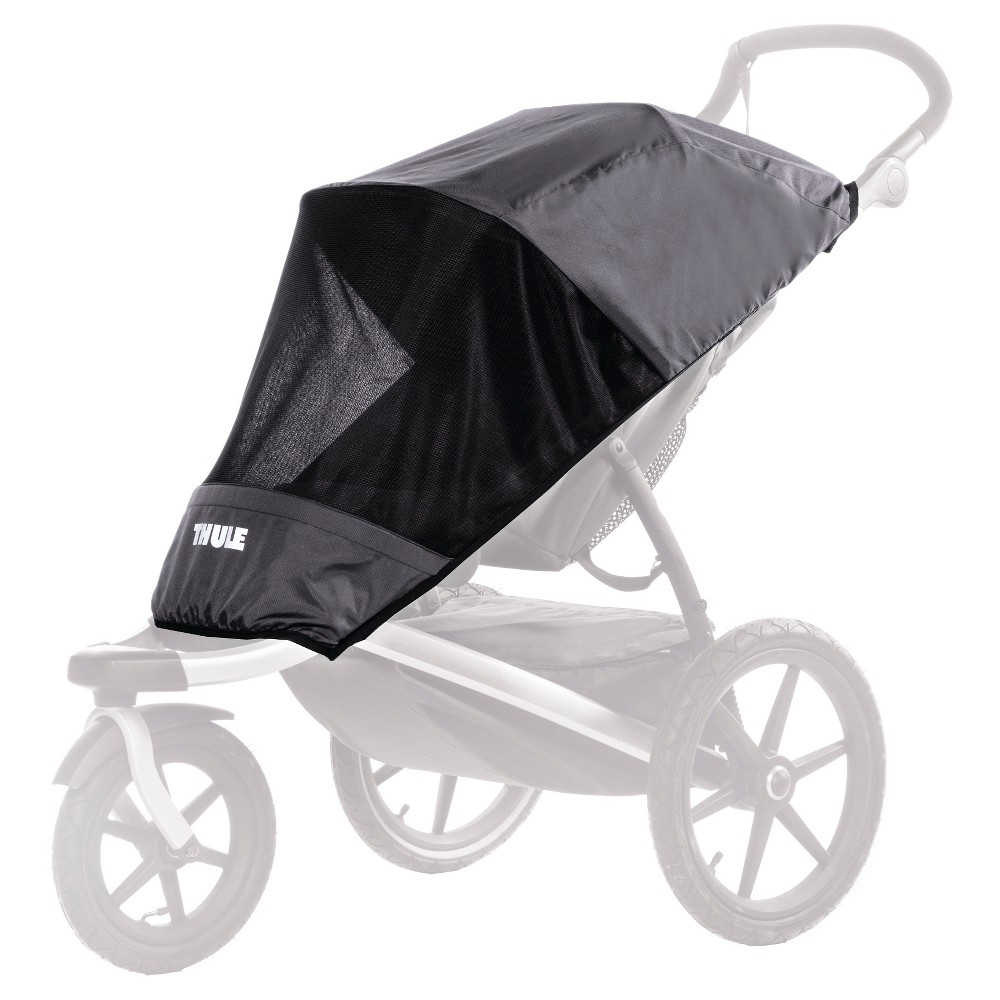 Image of Thule Urban Glide Mesh Sun And Wind Cover, Black