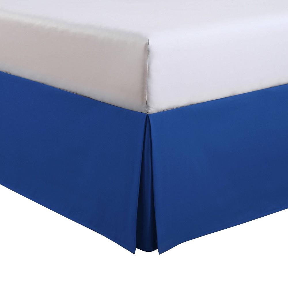 Image of Luxury Hotel Kids Full Kids Tailored Bed Skirt Cobalt Blue