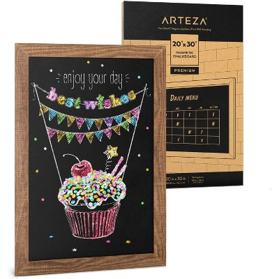 """Arteza Black Magnetic Chalkboard - 20""""x30"""" (ARTZ-8939)"""