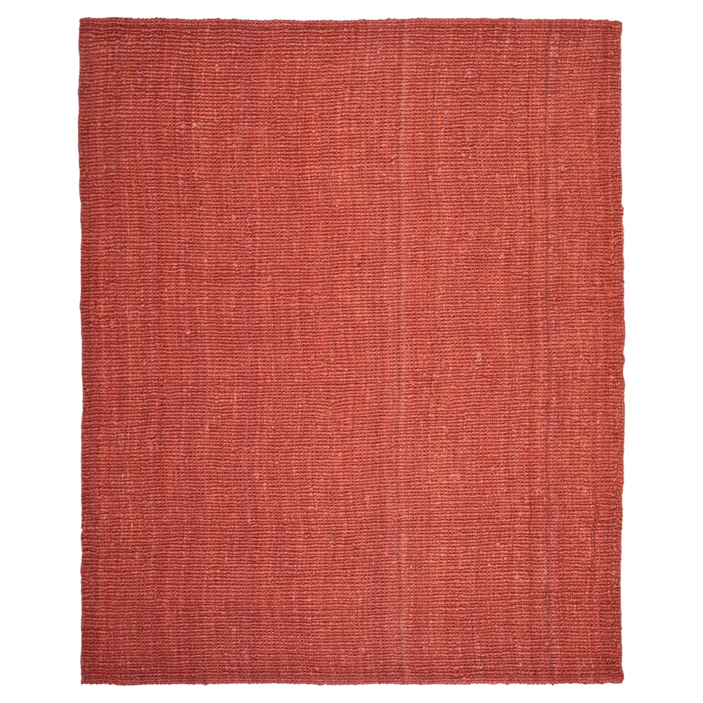 Serena Natural Fiber Area Rug - Rust (Red) (9' X 12') - Safavieh