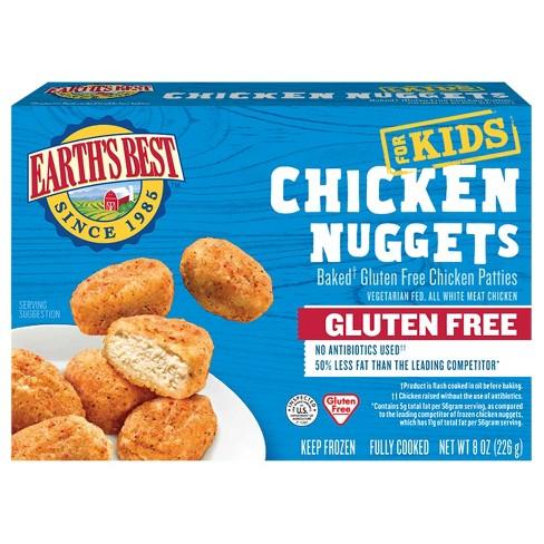 Earths Best Gluten Free Frozen Chicken Nuggets - 8oz - image 1 of 4