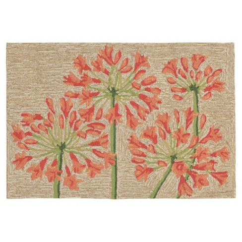 Ravella Lilly Bluebell Tufted Rug - Liora Manne - image 1 of 3