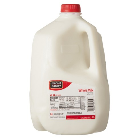 Vitamin D Whole Milk - 1gal - Market Pantry™ - image 1 of 1